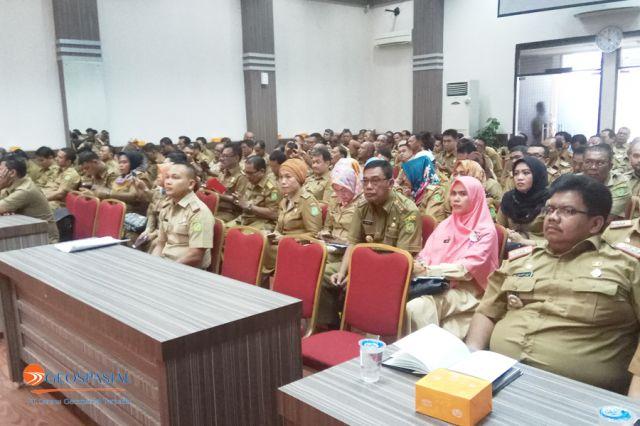 Tamu Undangan Delineasi Batas Desa/Kelurahan di Kota Medan