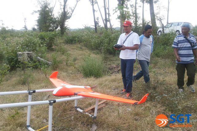 Pendampingan Pemetaan Hutan Perum Perhutani Divre Jateng menggunakan UAV