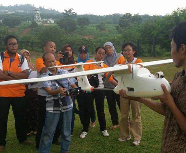 Pelatihan Pemetaan Cepat Menggunakan UAV