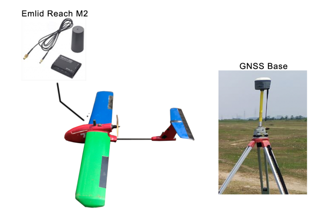 UAV with PPK/RTK System Full Set