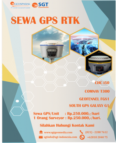 Jasa Rental GPS /GNSS Geodetic RTK dan Static