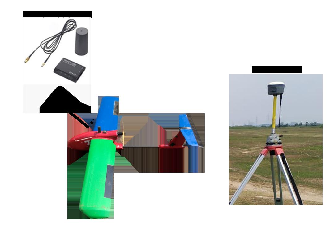 UAV with PPK/RTK System Full Set
