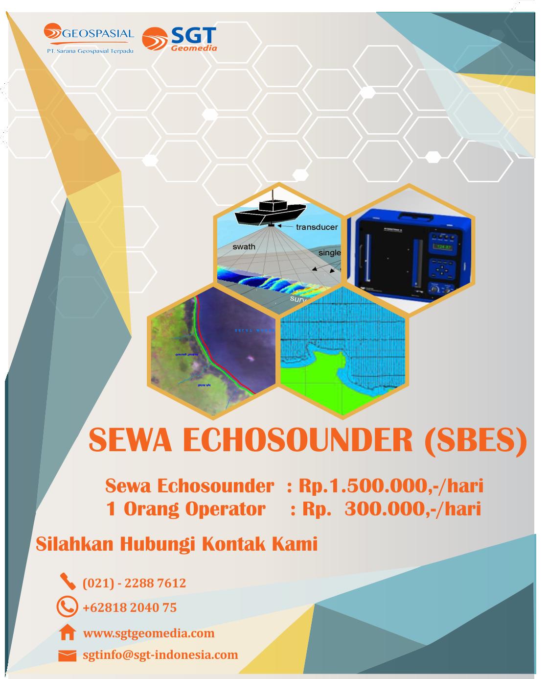 Echosounder Single Beam